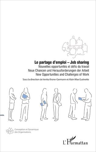 Couverture Le partage d'emploi - Job sharing