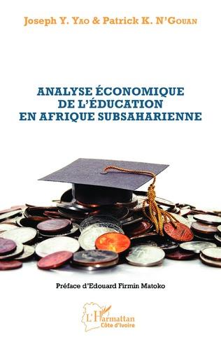 Couverture Analyse économique de l'éducation en Afrique subsaharienne