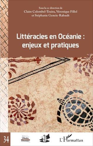 Couverture Littéracies en Océanie : enjeux et pratiques