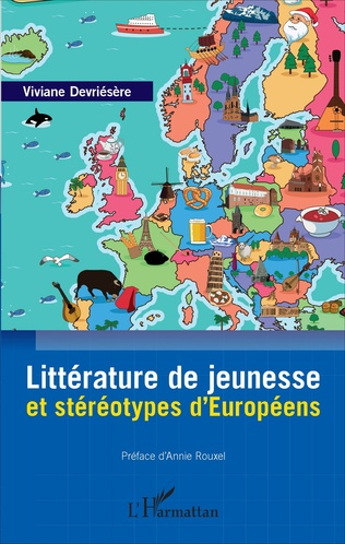 Couverture Littérature de jeunesse et stéréotypes d'Européens
