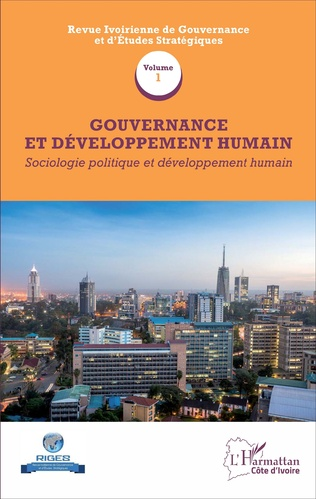 Couverture Gouvernance et développement humain (Volume 1)