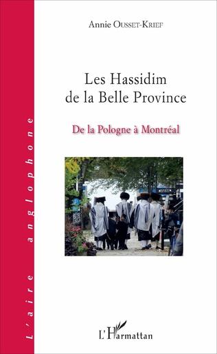 Couverture Les Hassidim de la Belle Province