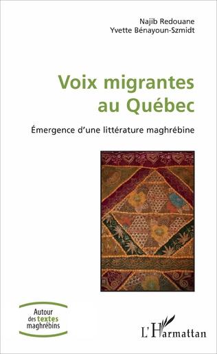 Couverture Voix migrantes au Québec