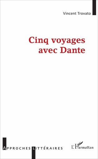 Couverture Cinq voyages avec Dante