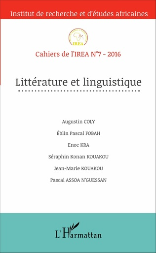 Couverture Littérature et linguistique
