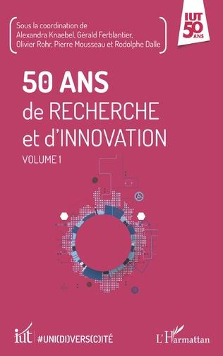 Couverture 50 ans de recherche et d'innovation