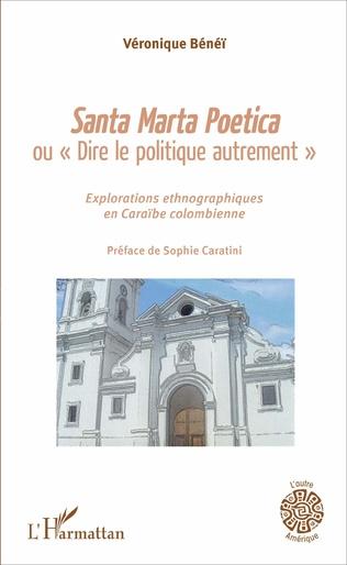 Couverture Santa Marta Poetica ou