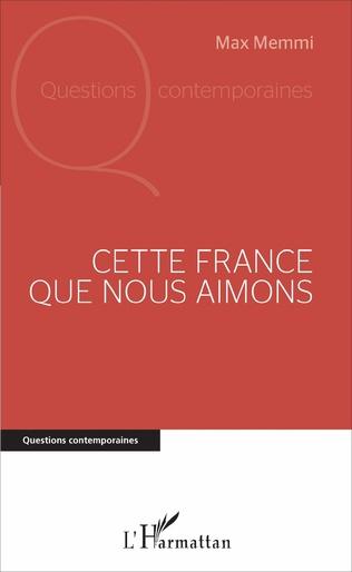 Couverture Cette France que nous aimons