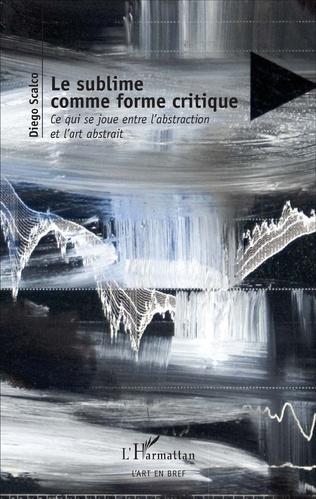 Couverture Le sublime comme forme critique