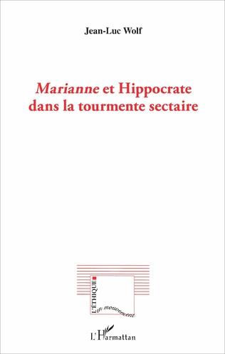 Couverture Marianne et Hippocrate dans la tourmente sectaire