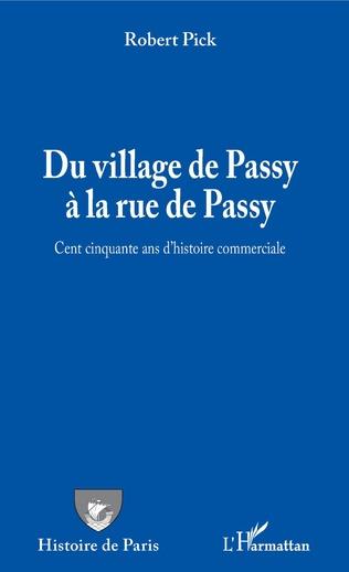 Couverture Du village de Passy à la rue de Passy