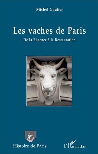 Couverture Les vaches de Paris