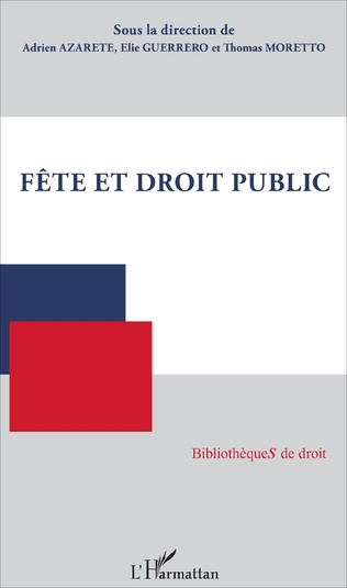 Couverture Fête et droit public