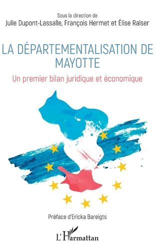 Couverture La départementalisation de Mayotte