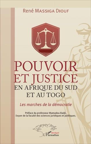 Couverture Pouvoir et justice en Afrique du Sud et au Togo