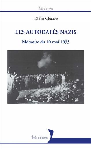 Couverture Les autodafés nazis