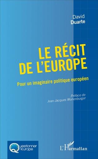 Couverture Le récit de l'Europe