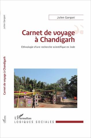 Couverture Carnet de voyage à Chandigarh