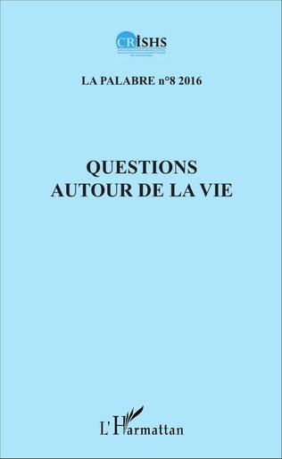 Couverture Questions autour de la vie