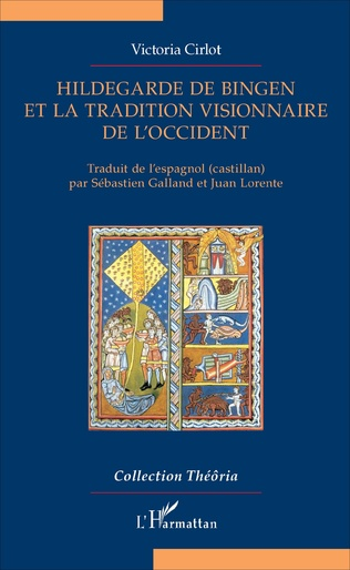 Couverture Hildegarde de Bingen et la tradition visionnaire de l'Occident