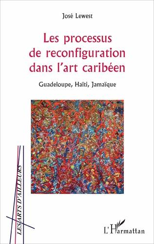 Couverture Les processus de reconfiguration dans l'art caribéen