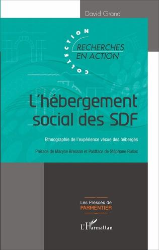 Couverture L'hébergement social des SDF