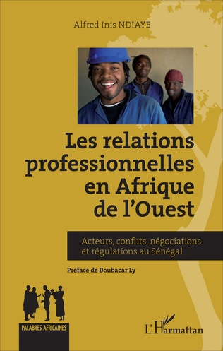 Couverture Relations professionnelles en Afrique de l'Ouest