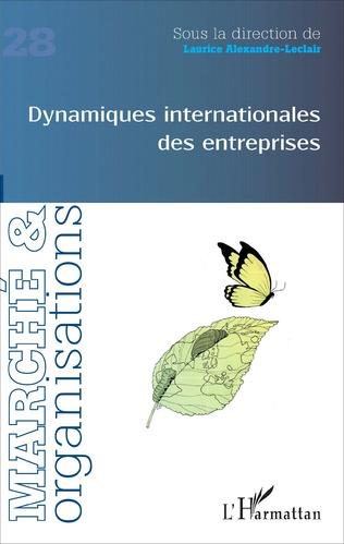 Couverture Dynamiques internationales des entreprises