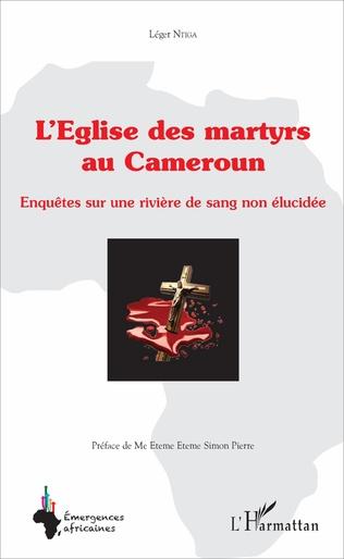 Couverture L'église des martyrs au Cameroun