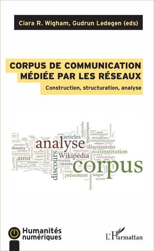 Couverture Corpus de communication médiée par les réseaux