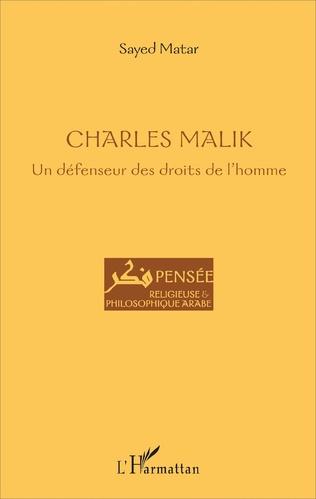 Couverture Charles Malik