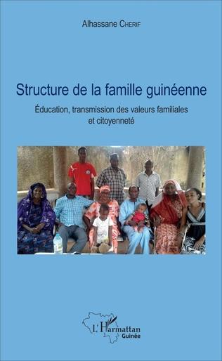 Couverture Structure de la famille guinéenne