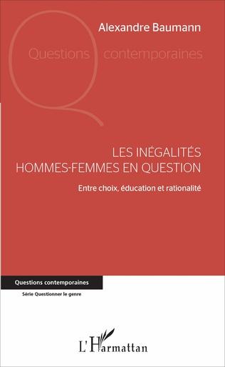 Couverture Les inégalités hommes-femmes en question