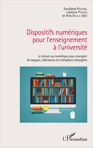 Couverture Dispositifs numériques pour l'enseignement à l'université