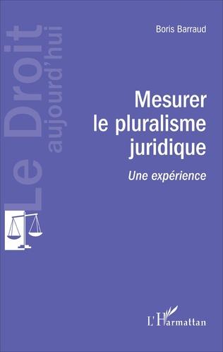 Couverture Mesurer le pluralisme juridique