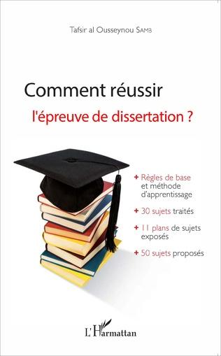 Couverture Comment réussir l'épreuve de dissertation ?