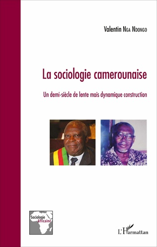 Couverture La sociologie camerounaise