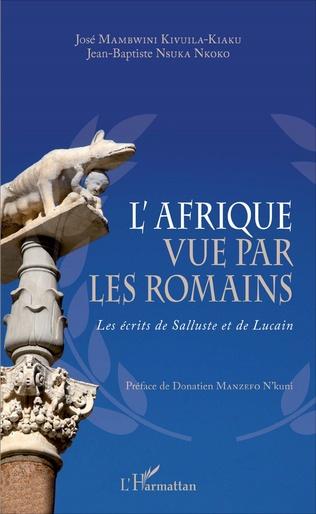 Couverture L'Afrique vue par les romains