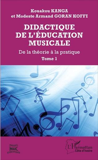 Couverture Didactique de l'éducation musicale