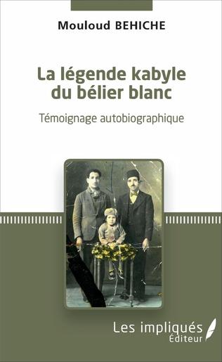 Couverture La légende kabyle du bélier blanc