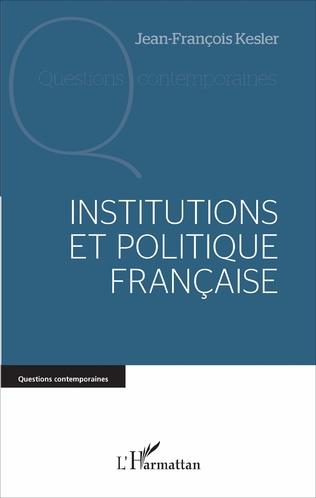 Couverture Institutions et politique française