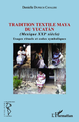 Couverture Tradition textile maya du Yucatán