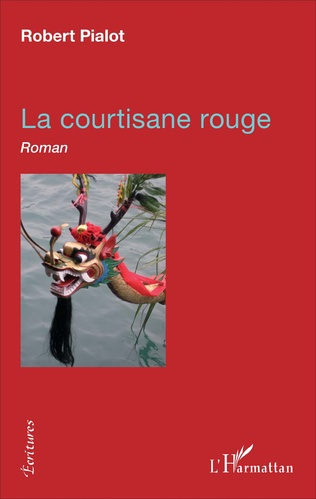 Couverture La courtisane rouge