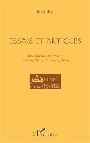 Couverture Essais et articles
