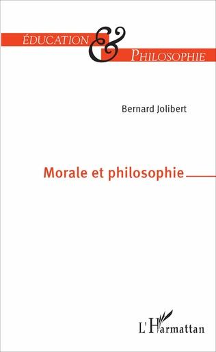 Couverture Morale et philosophie