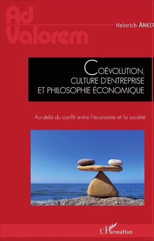 Couverture Coévolution, culture d'entreprise et philosophie économique