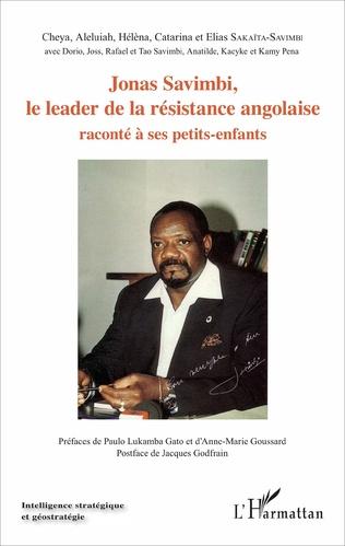 Couverture Jonas Savimbi