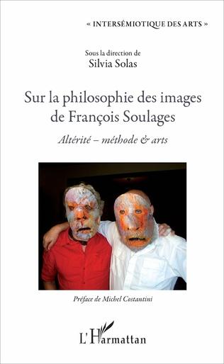 Couverture Sur la philosophie des images de François Soulages