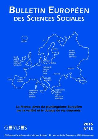 Couverture Bulletin européen des sciences sociales n° 13