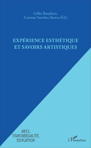 Couverture Expérience esthétique et savoirs artistiques